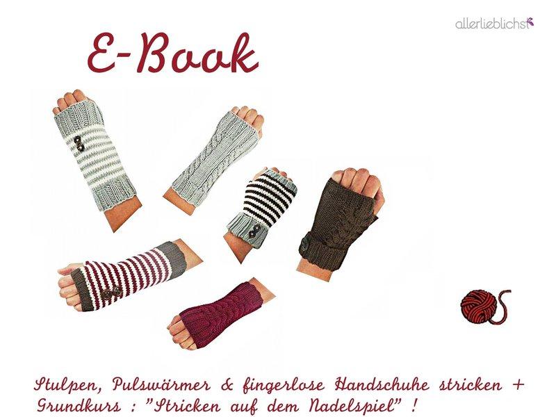 fingerlose handschuhe stricken anleitung